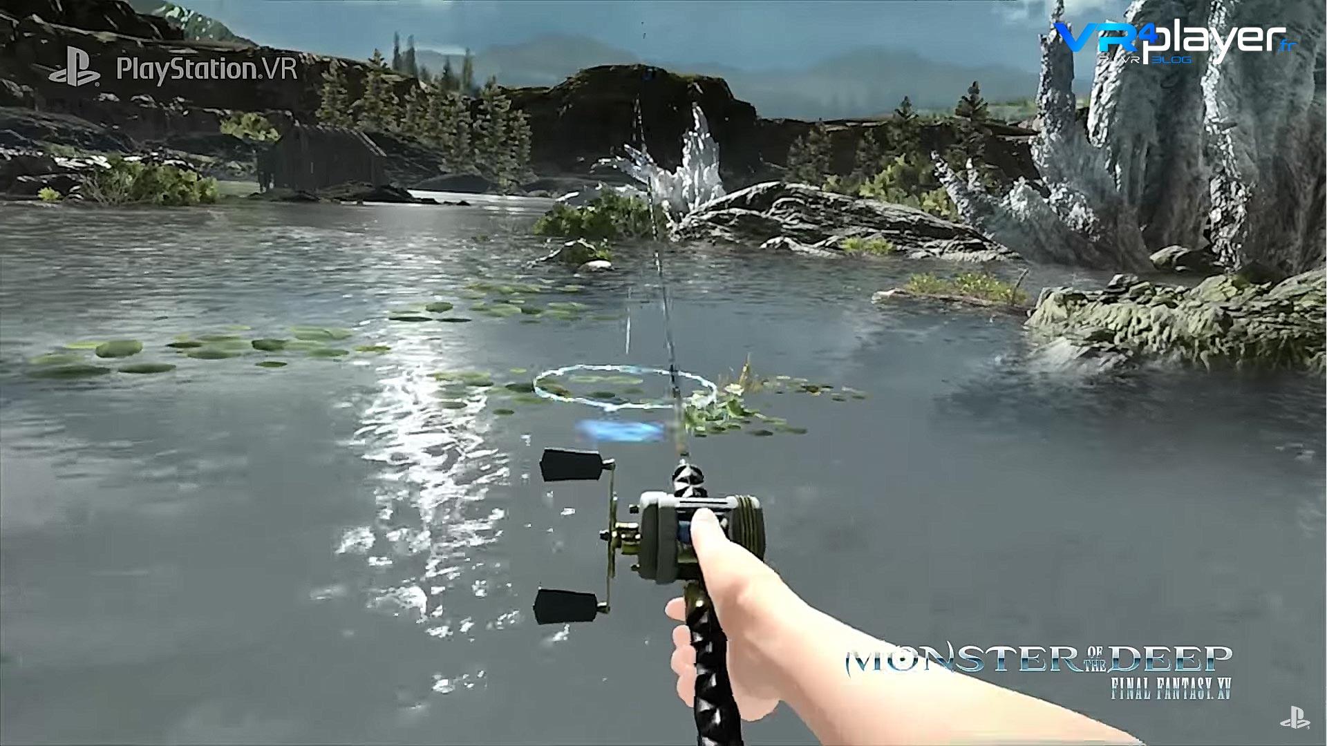 FF XV Monster of the Deep PSVR - VR4Player