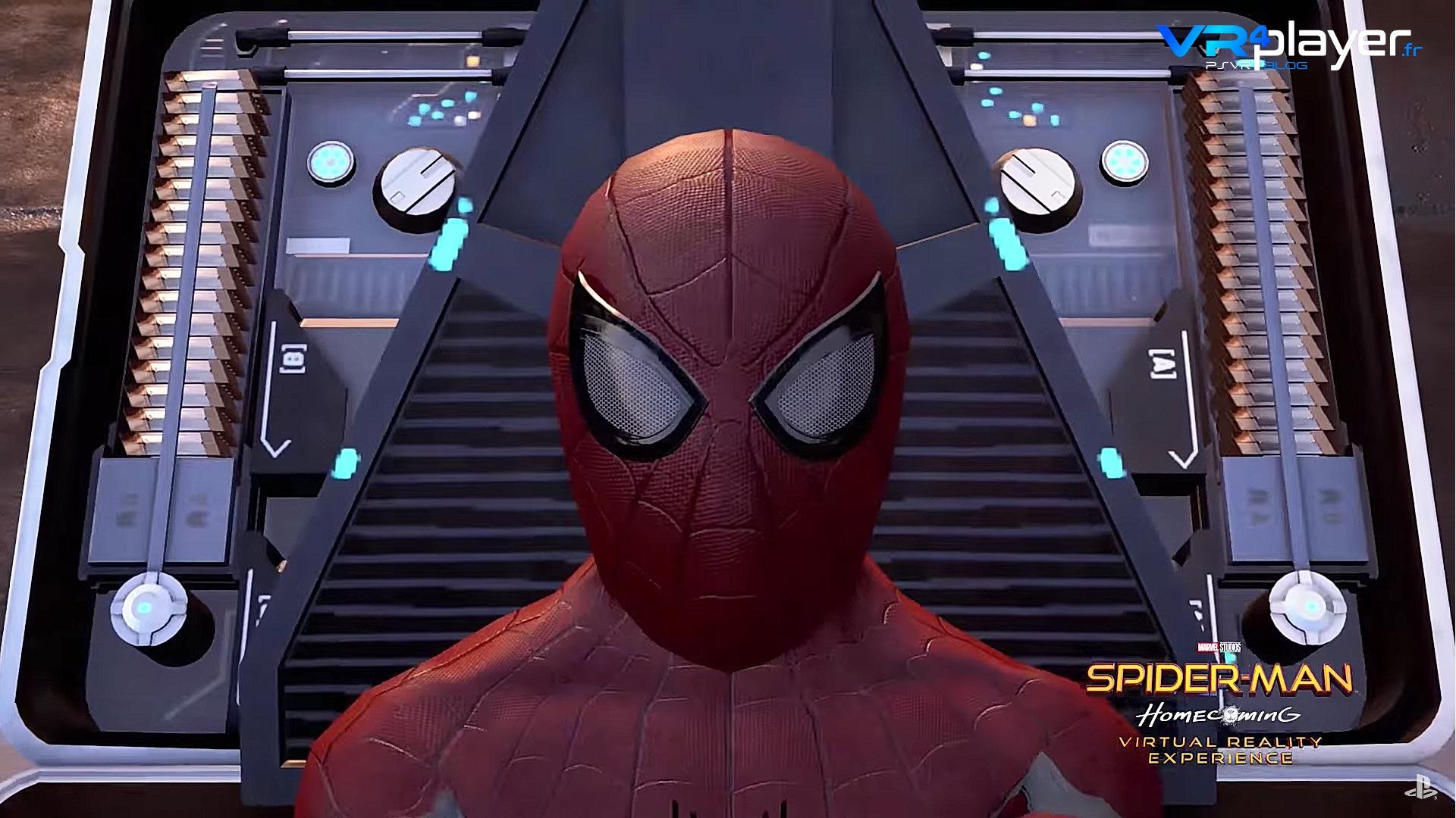 Spiderman Homecoming VR PSVR - VR4Player
