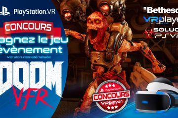 PlayStation VR : Concours, gagnez un code Europe DOOM VFR !