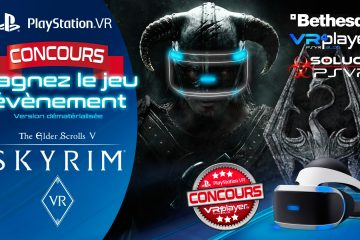 PlayStation VR : Concours, gagnez un code Europe Skyrim VR !