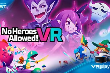 No Heroes Allowed! sur PlayStation VR, Le test.