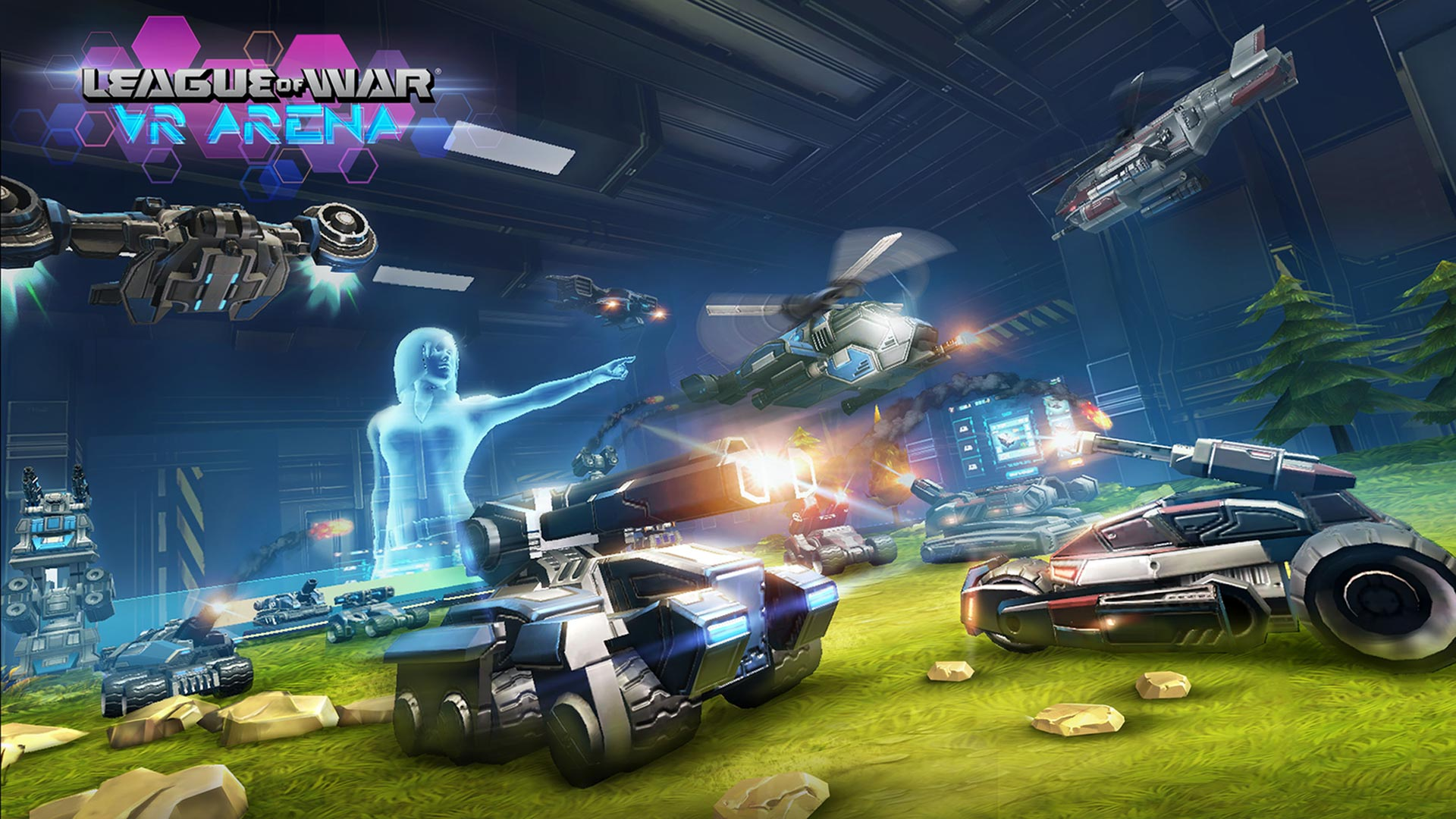League of War VR Arena PlayStation VR - vrplayer.fr