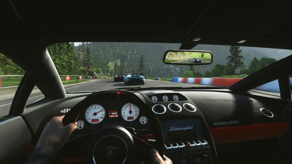 DRIVECLUB VR sur playStation VR