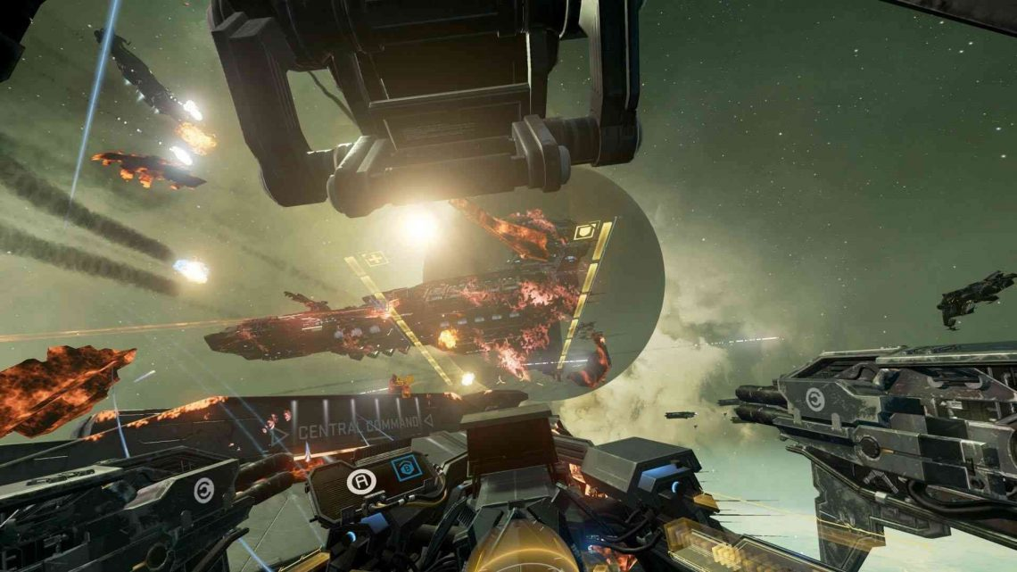 Eve Valkyrie sur PlayStation VR