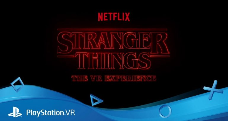 Stranger Things The VR Experience sur PSVR