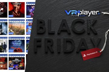 PlayStation VR : les offres Black Friday du Store