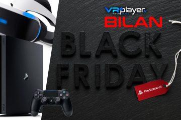 PS4, PlayStation VR : Le Black Friday tire vers le haut les ventes de la PS4 et du PSVR