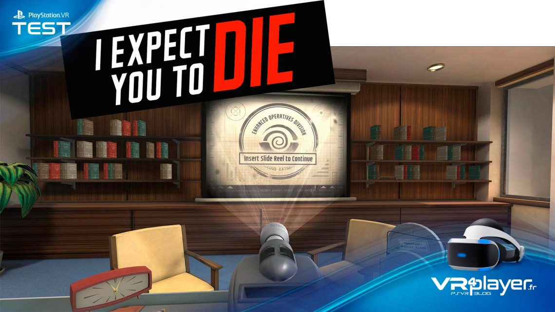 I Expect you to Die VR4player Test