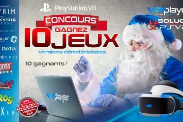 PlayStation VR : Concours de Noël, 10 jeux PSVR à gagner !