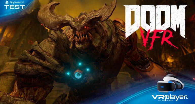 Doom VFR test review VR4player.fr