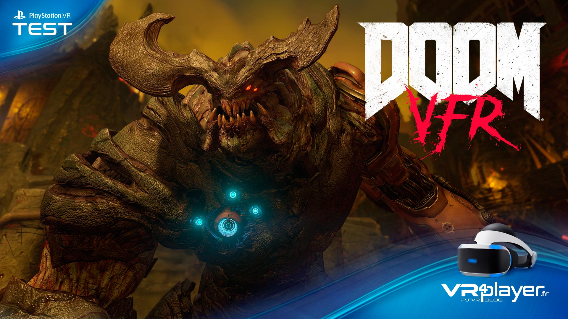 Doom VFR test review VR4player.fr