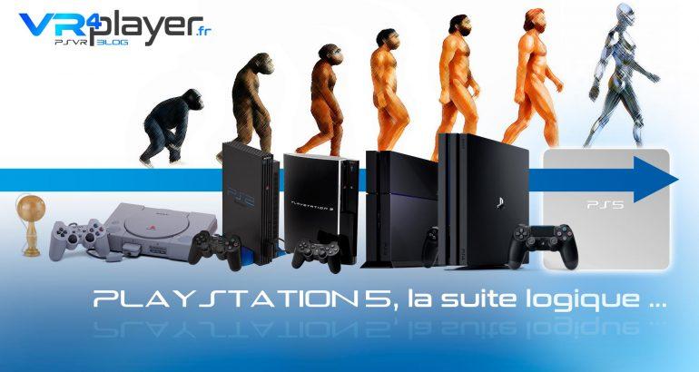 PlayStation 5, PS5 suite logique VR4Player