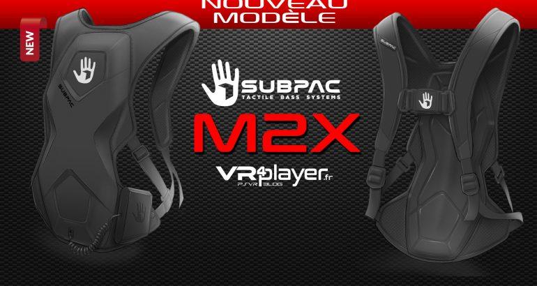 Subpac M2X VR4player.fr