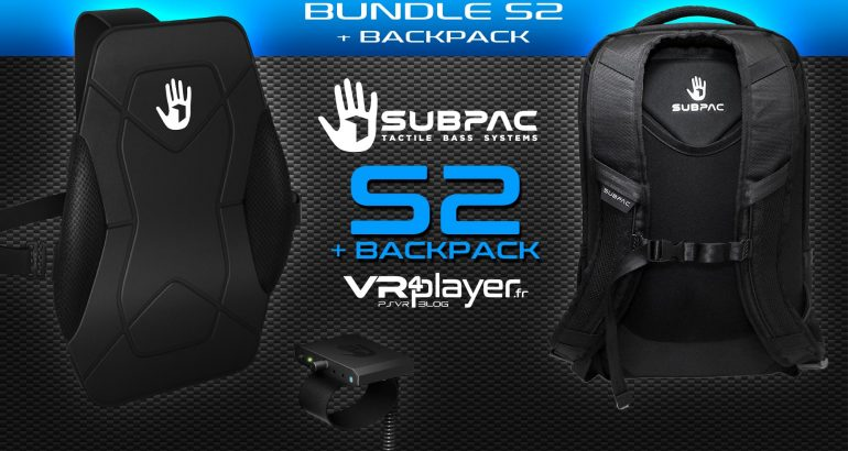 Subpac S2 PlayStation VR VR4player.fr