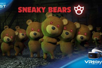 PlayStation VR : Sneaky Bears, autopsie d'un ourson vénère, le test.