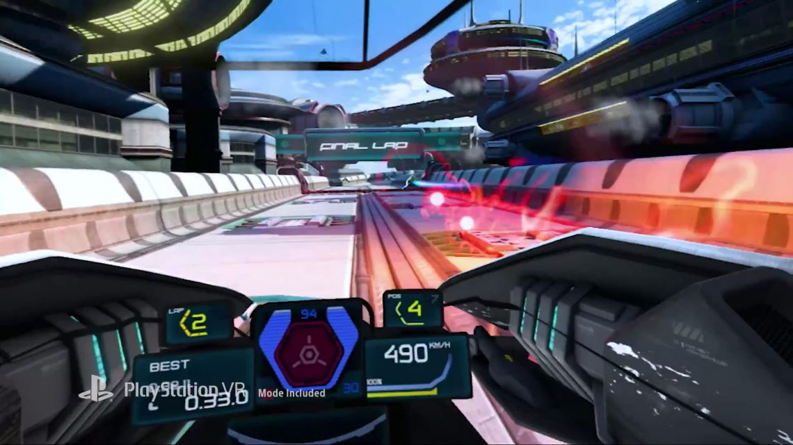 Wipeout VR - vr4player.fr