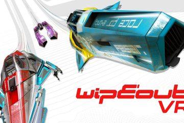 PlayStation VR : Wipeout VR, update d'Omega annoncé à la PSX