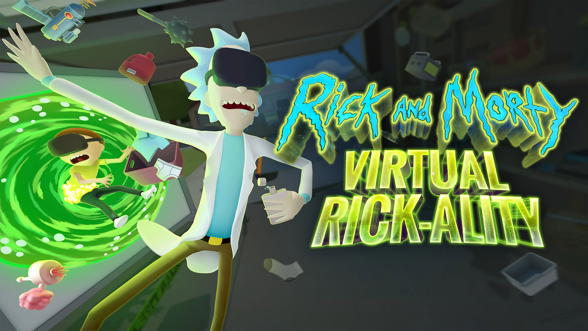 Rick and Morty: Virtual Rick-ality sur PSVR