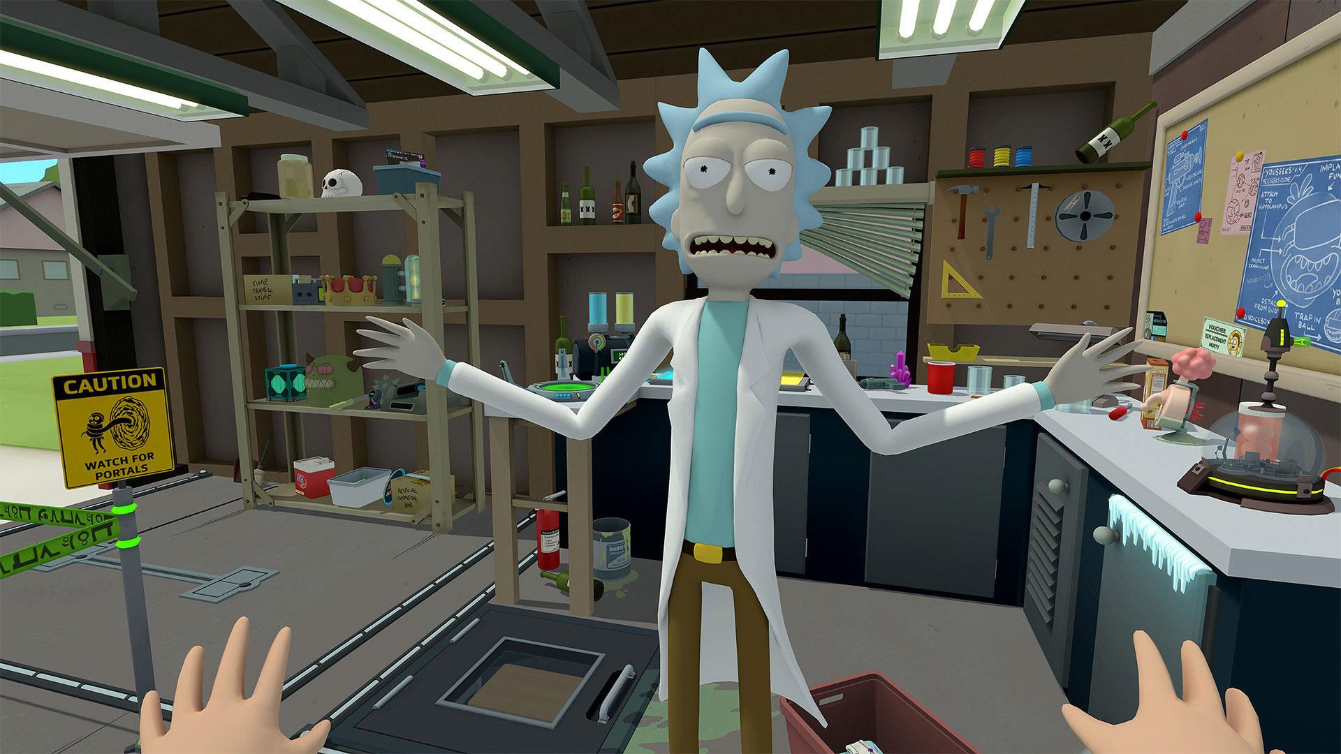 Rick and Morty: Virtual Rick-ality sur PSVR