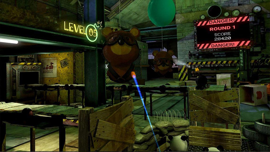 Sneaky Bears sur PSVR