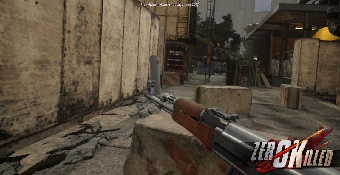 Zero Killed sur PSVR
