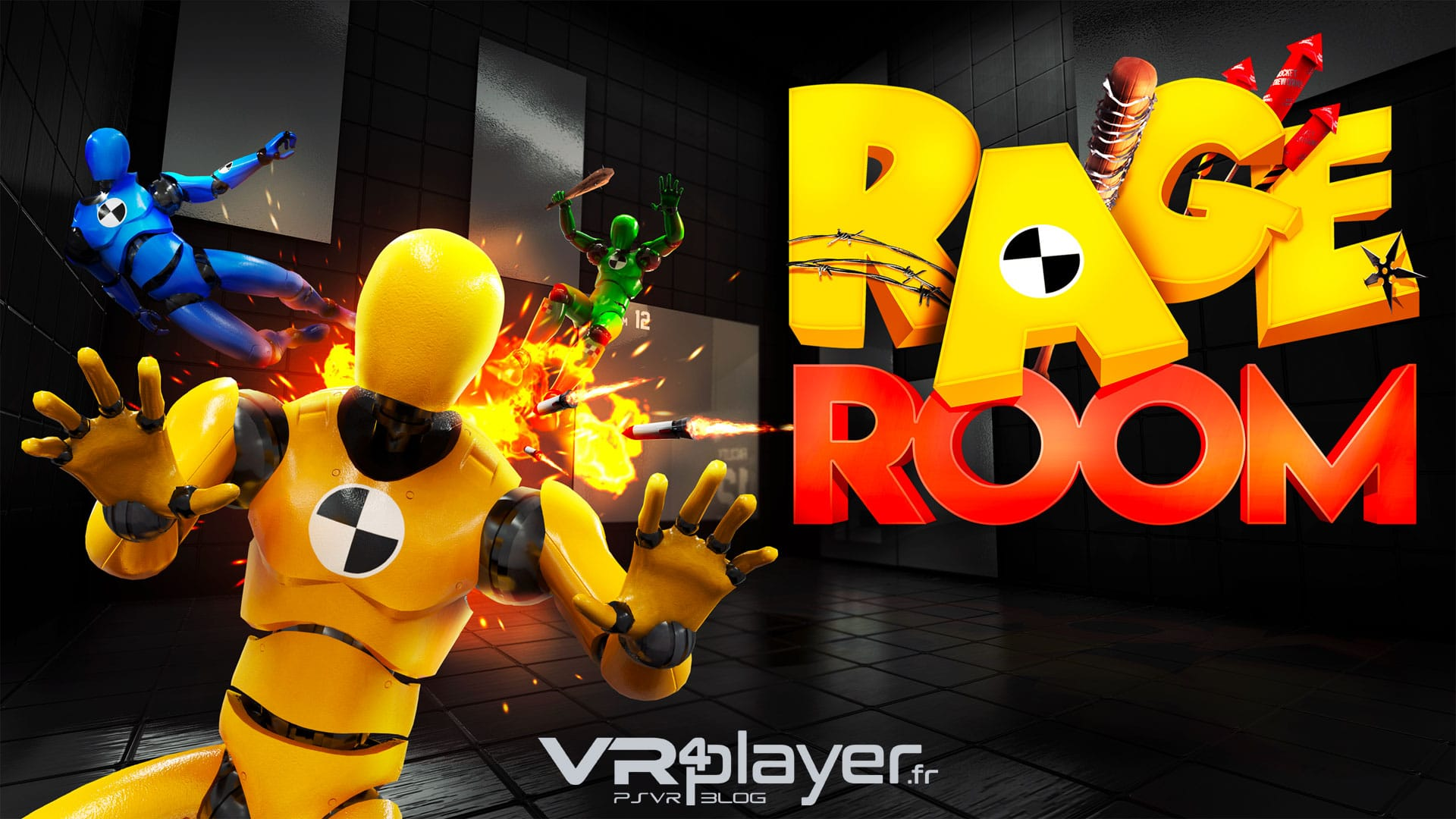 PlayStation VR PSVR Rage Room VR