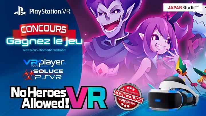 No heroes allowed ! Concours, gagnez le jeu sur VR4player.fr