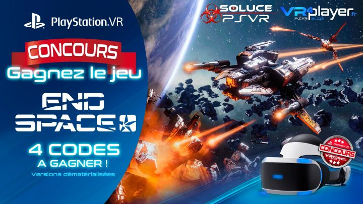 Concours End Space, gagnez 4 codes du jeu sur VR4player !
