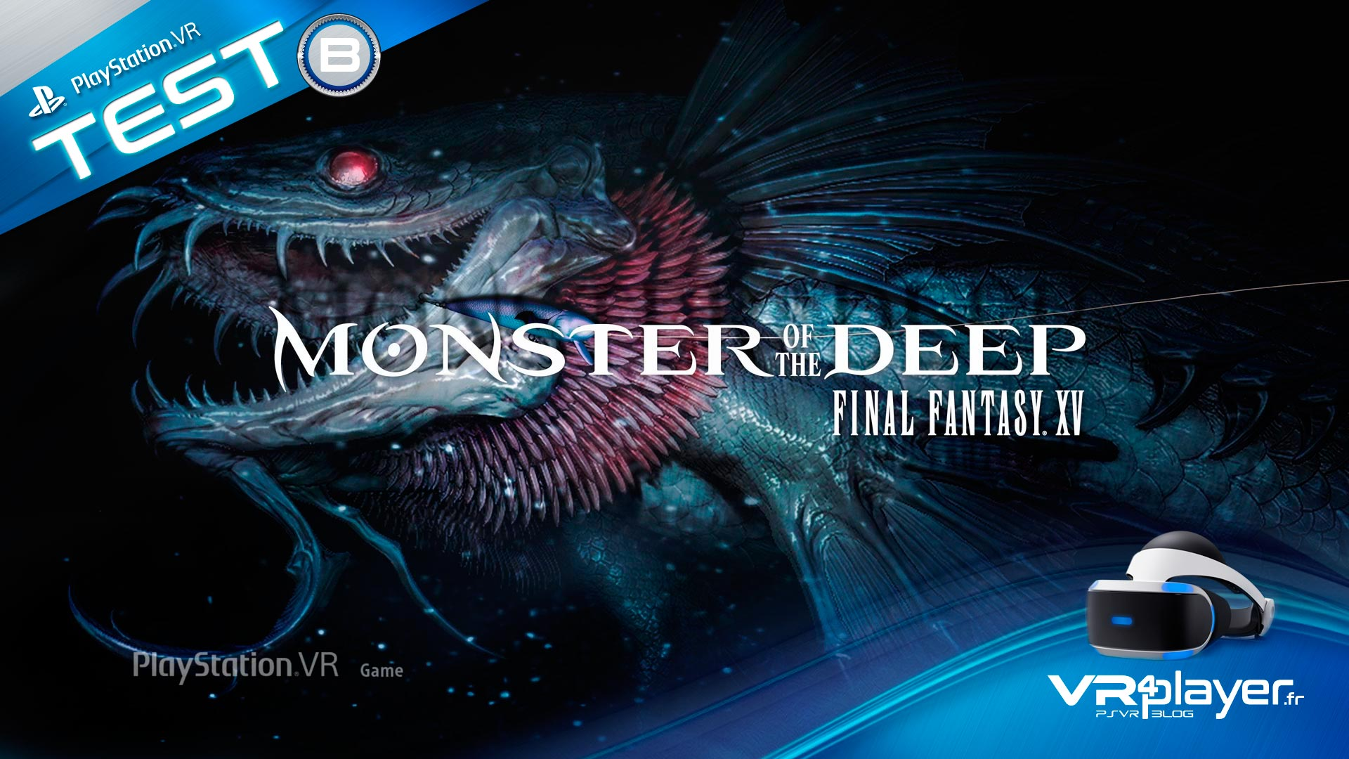 Monster Of The Deep Test Review VR4player
