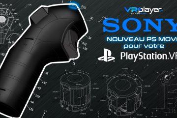 PlayStation VR : Des nouveaux PS Move brevetés par Sony pour 2018 ?
