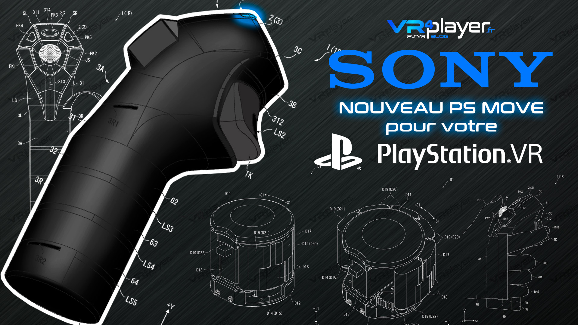 PlayStation VR New PS Move VR4player.fr