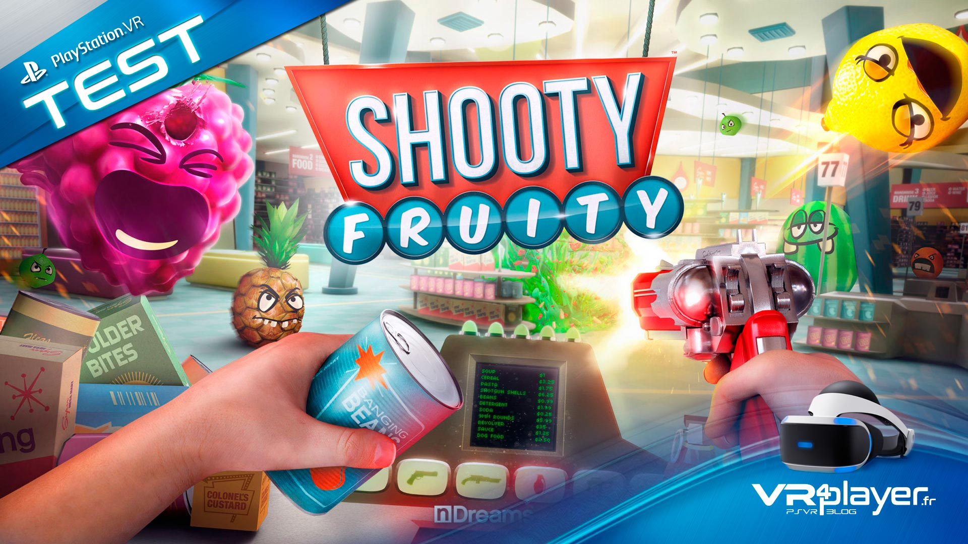 Shooty Fruity Test Review VR4Player.fr