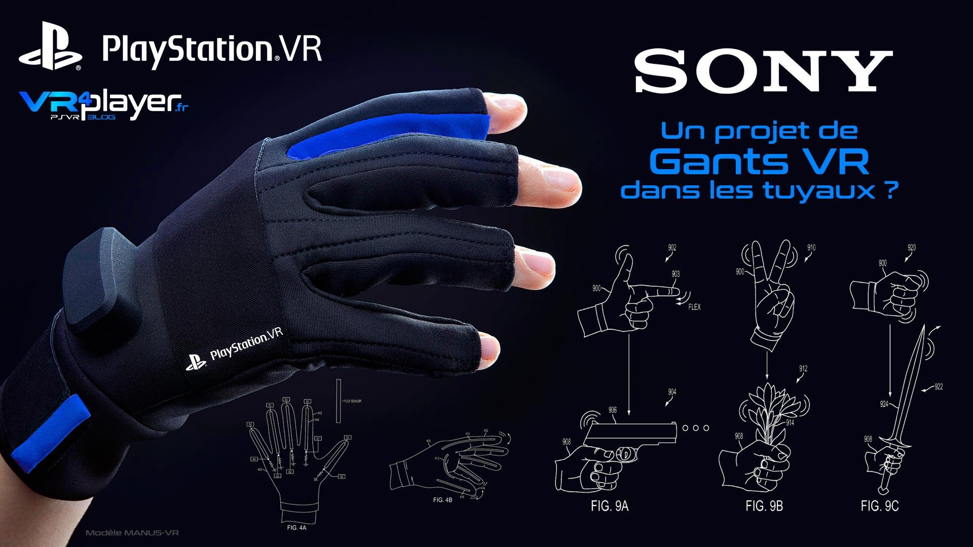 gants VR PlayStation VR VR4player