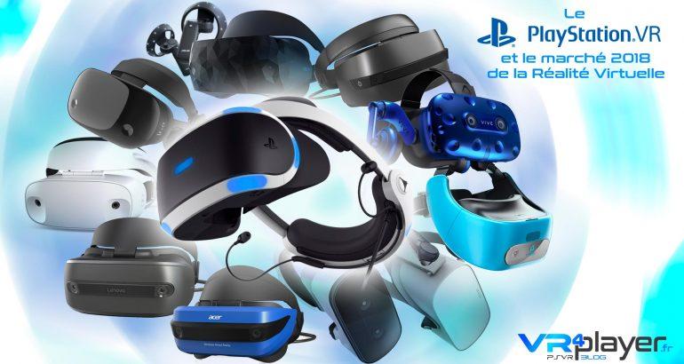 PlayStation VR, Oculus Rift et HTC Vive, le marché 2018 - Dossier Vidéo