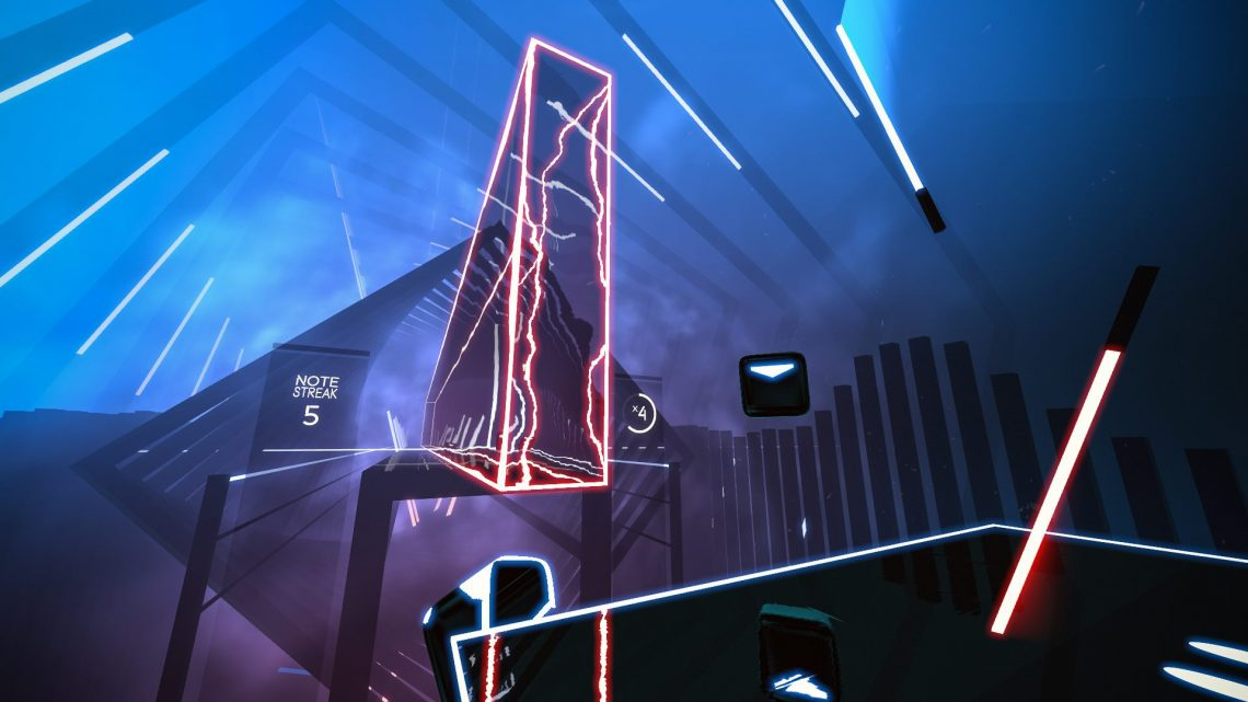 Beat Saber PlayStation VR, PSVR