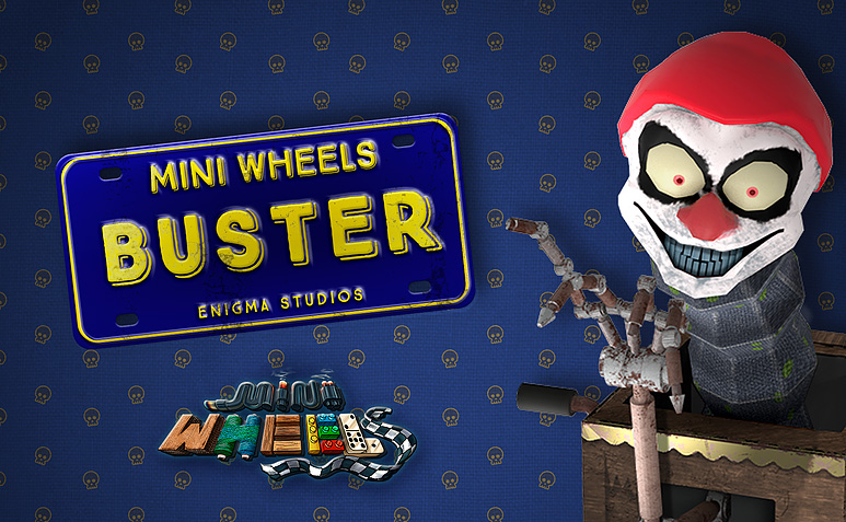Mini Wheels compatible PSVR vrplayer.fr
