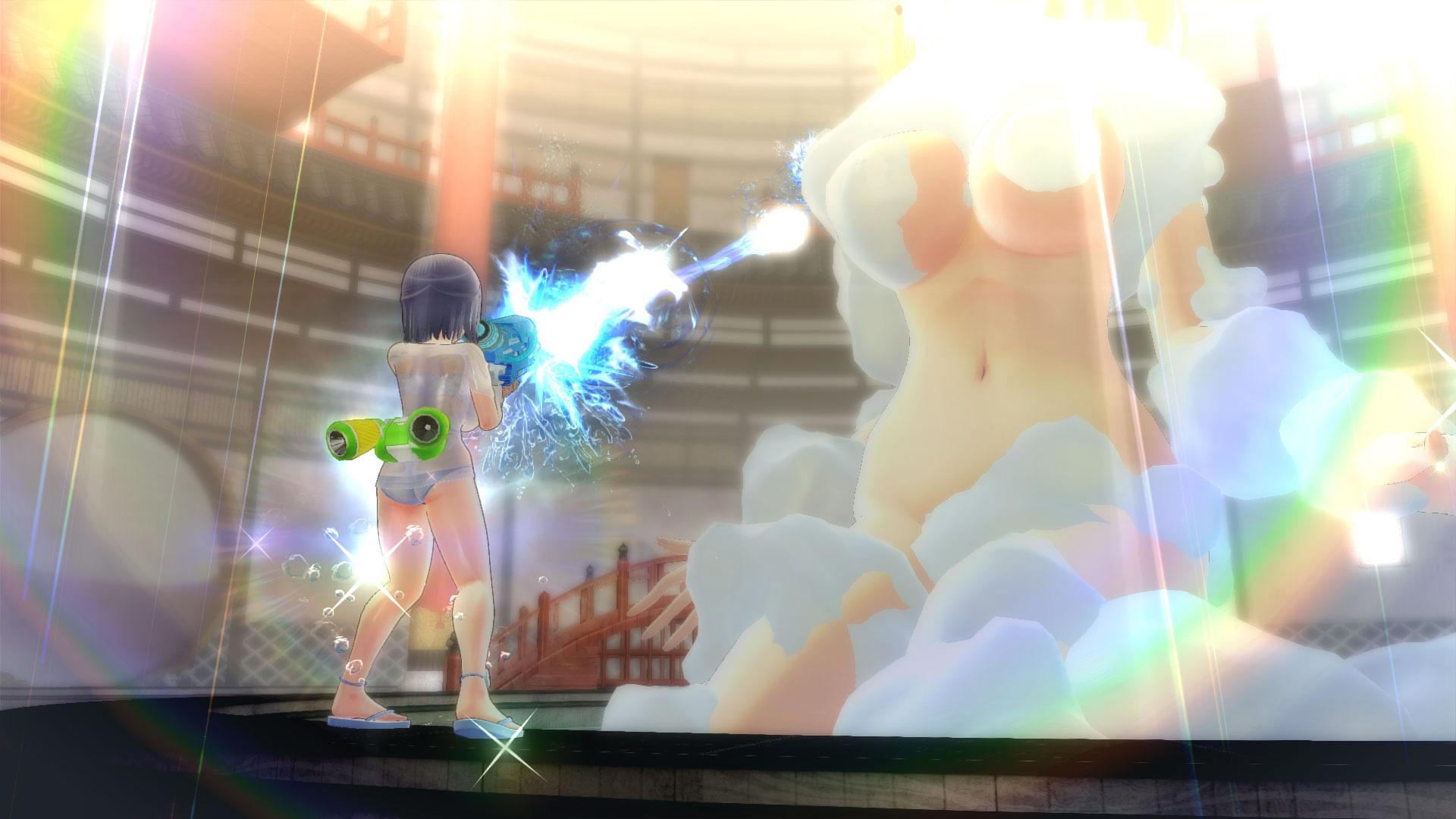 Senran Kagura Peach Beach Splash PS4 PSVR vrplayer.fr