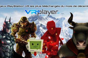 PlayStation VR : les jeux PSVR les plus téléchargés de décembre