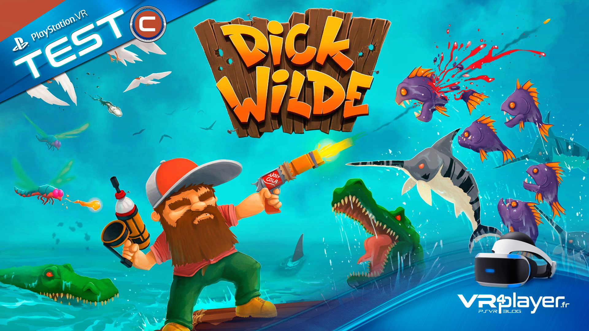 Dick Wild le Test sur PSVR