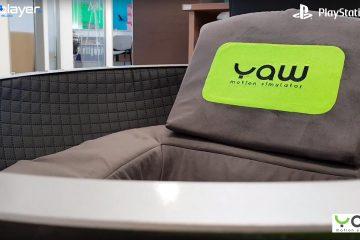 PlayStation VR : Yaw VR, un siège de simulation de mouvement intelligent et compact !