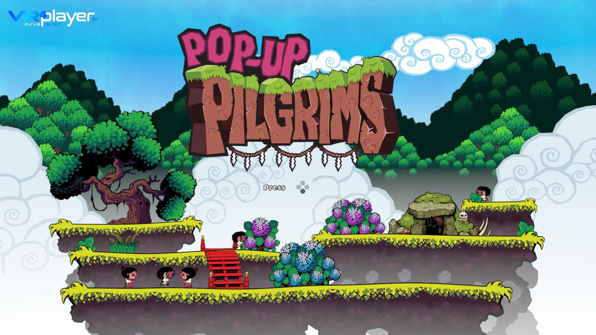 Pop-Up Pilgrims Exclusivité PSVR VR4player.fr
