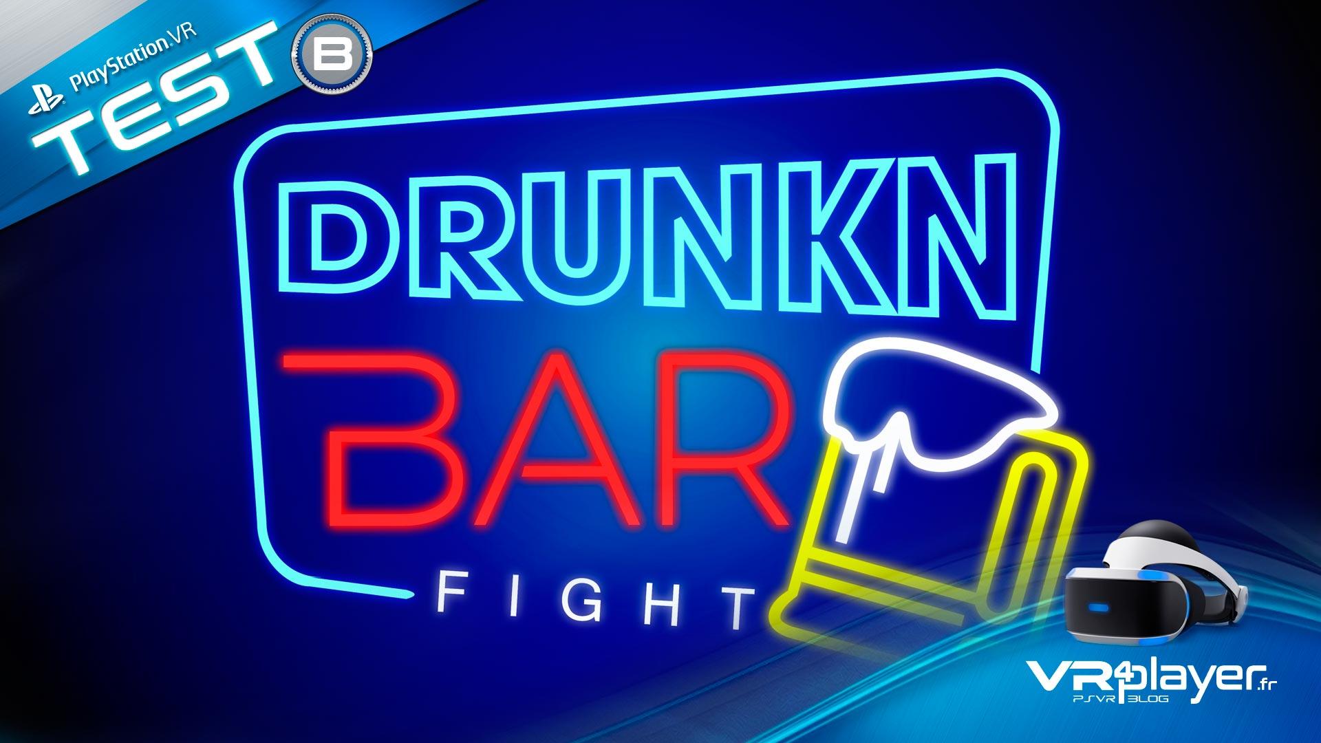 Drunkn Bar FIght sur PSVR le test vrplayer.fr
