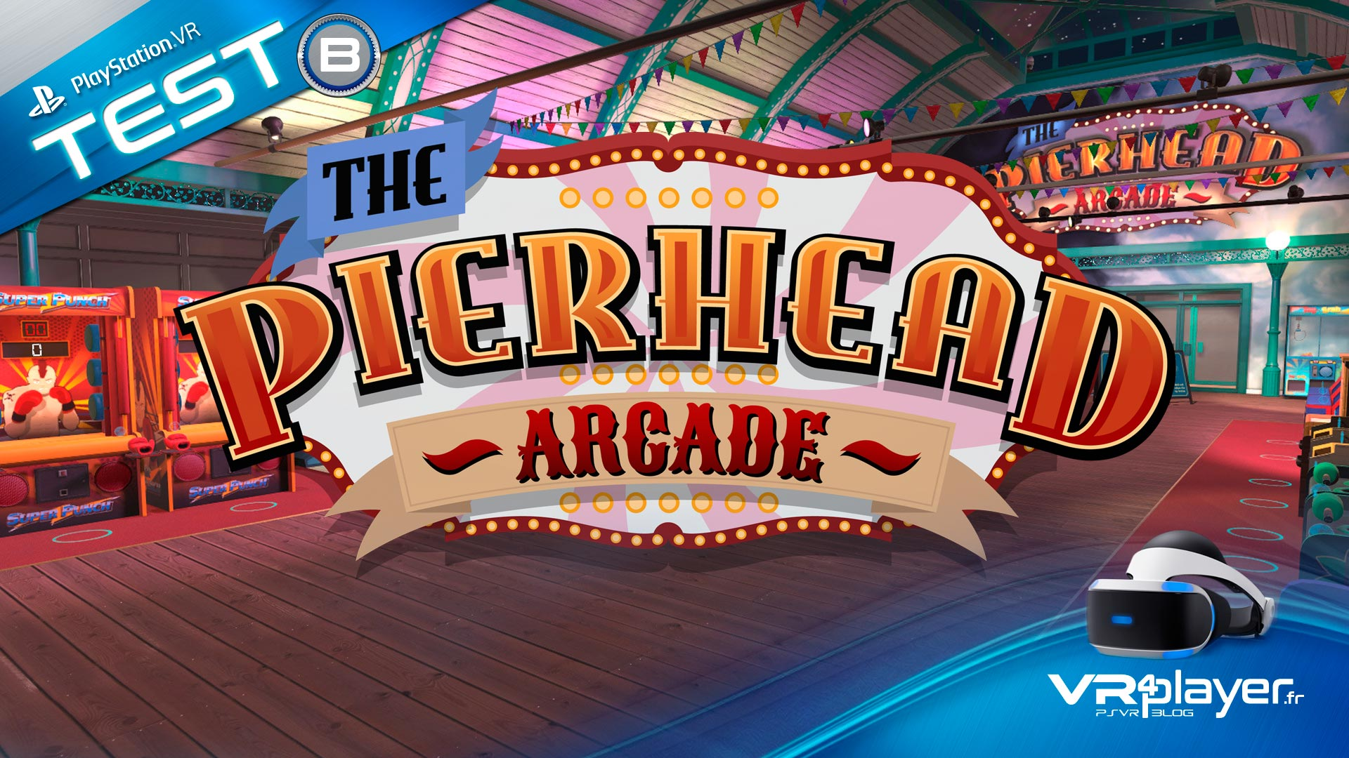 The Pierhead Arcade VR4Player Test Review