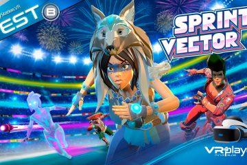 PlayStation VR : Sprint Vector nous fait mouiller la chemise! Test Review