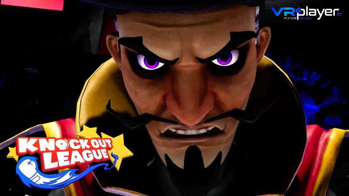 Knock Out League PlayStation VR vrplayer.fr
