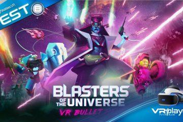 PlayStation VR : Blasters of the Universe, le plus intense Shooter de la planète ? Réponse dans le test.