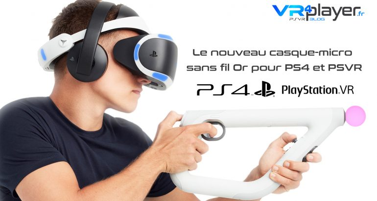 casque audio SONY PlayStation VR VR4player.fr