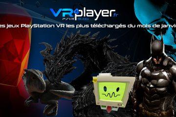 PlayStation VR : Les meilleures ventes PSVR du Store en janvier