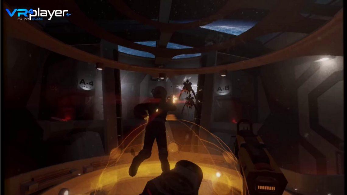 Downward Spiral Horus Station sur PS4 PSVR vrplayer.fr