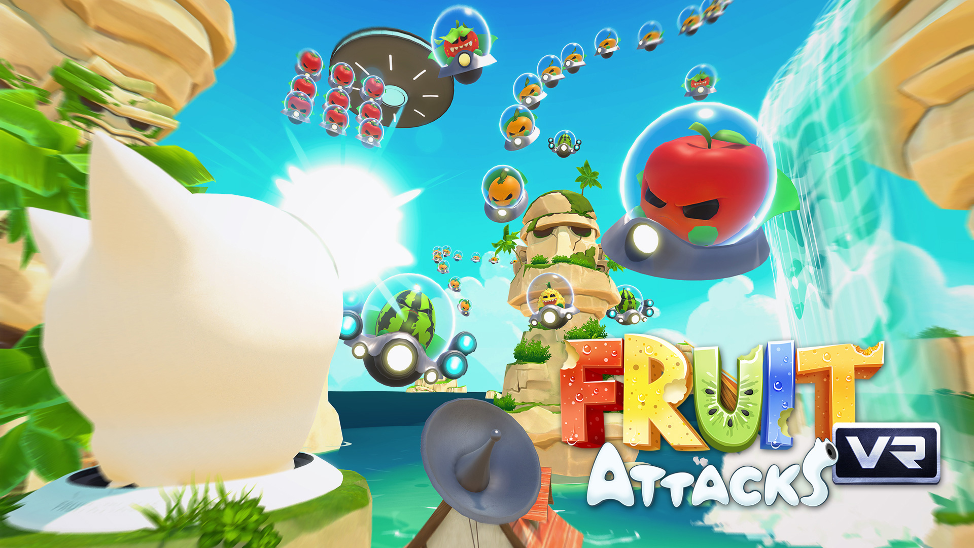 Fruit Attacks VR PlayStation VR vrplayer.fr
